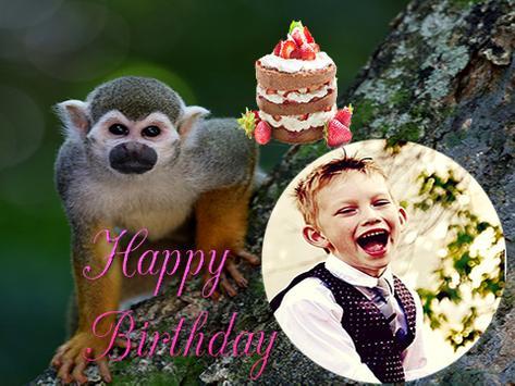 Happy Birthday Animal Frames screenshot 2