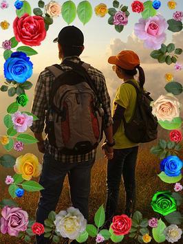 Rose Flower Photo Frames poster