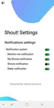 SHOUT! screenshot 4