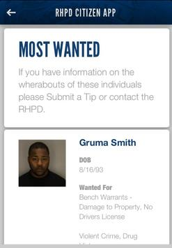 RHPD Citizen App screenshot 3