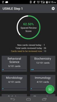 USMLE Step 1 Flashcards - LITE apk screenshot