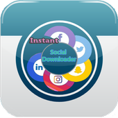 Go downloader  Video : Media Social All in one icon