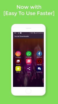 Go downloader  Video : Media Social All in one poster