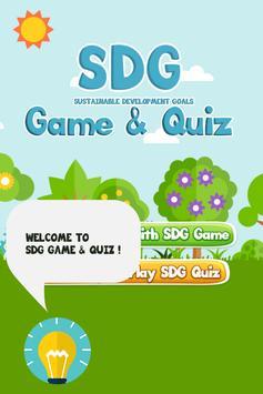 SDG Game & Quiz screenshot 1