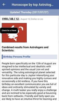 Horoscope by world best astrologers apk screenshot