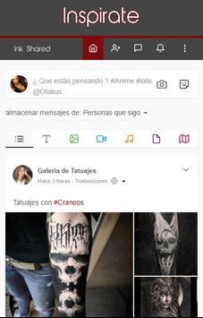 Ink Shared - Red de Tatuajes screenshot 3