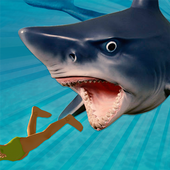 Angry Killer Shark Attack 3D icon