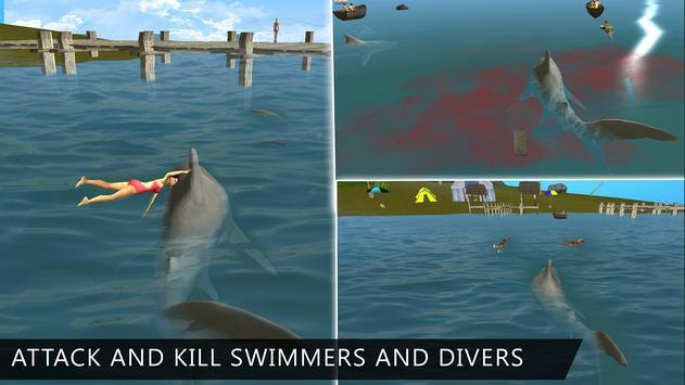 Angry Killer Shark Attack 3D apk screenshot