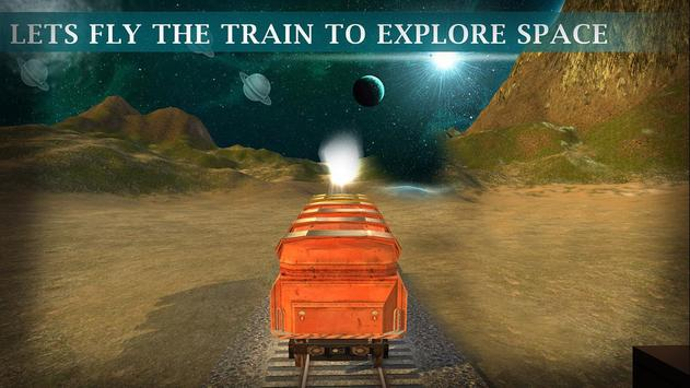 Flying Train Driver Simulation poster