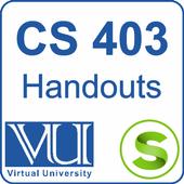CS403 Handouts icon