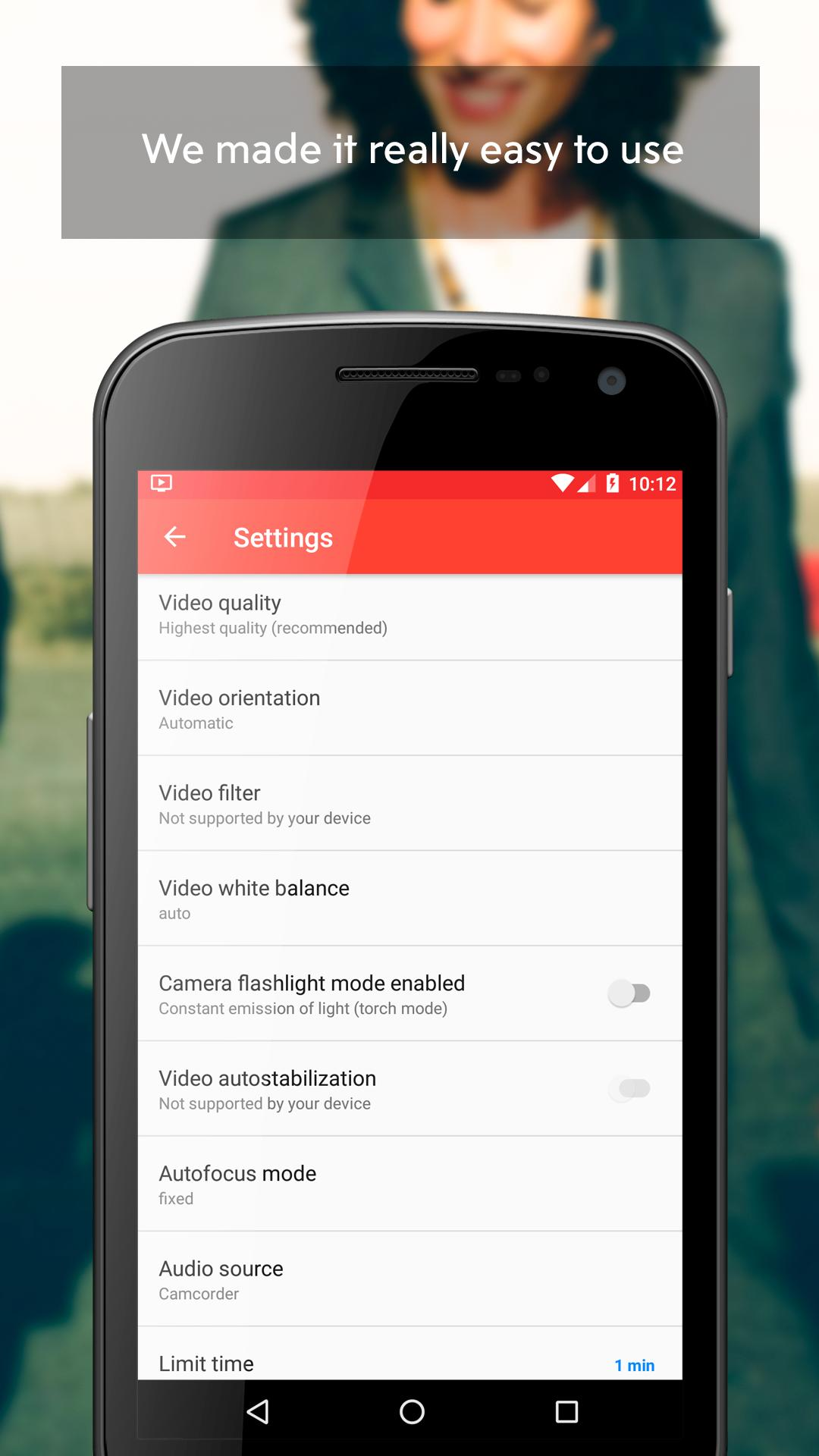 Background Video Recorder Pro for Android - APK Download