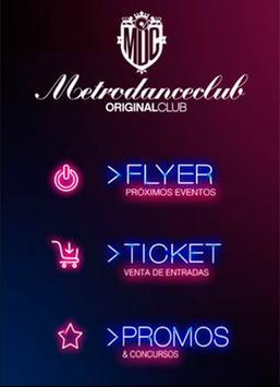 Metro Dance Club poster