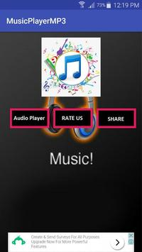 MP3 Downloaded Music Player screenshot 2