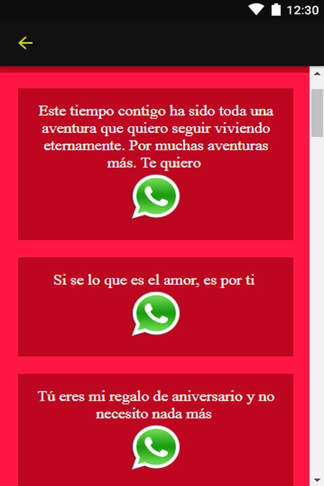 Frases De Aniversario De Amor для андроид скачать Apk