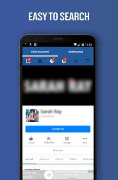 Save Videos For Facebook apk screenshot