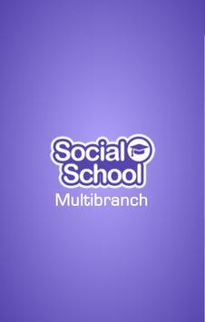 Social School Multibranch poster