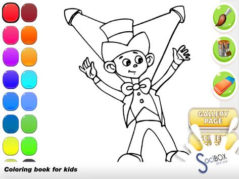 Magic Coloring Book screenshot 4