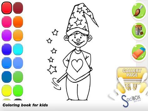 Magic Coloring Book screenshot 5
