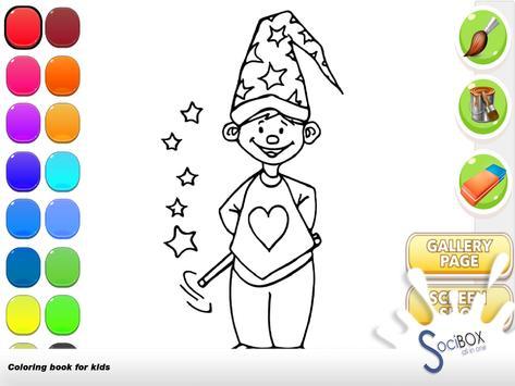 Magic Coloring Book screenshot 13