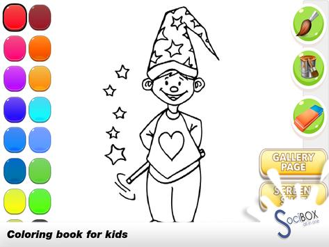 Magic Coloring Book screenshot 1