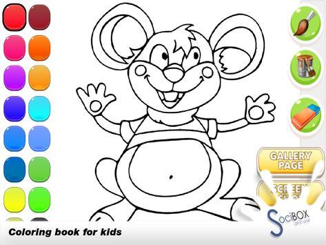 Mouse Coloring Book screenshot 11