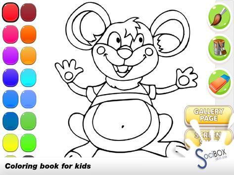 Mouse Coloring Book screenshot 1