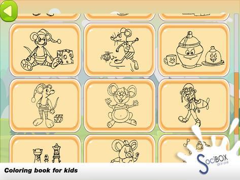 Mouse Coloring Book screenshot 6