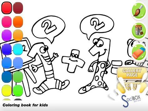 Numbers Coloring Book screenshot 1