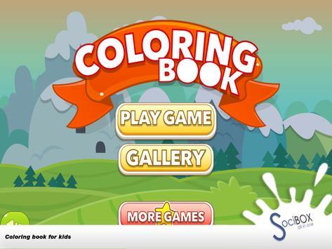 Nature Coloring Book apk screenshot