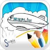 Zeplin  Coloring Book icon