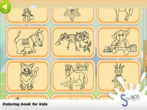 Animals Coloring Book screenshot 14