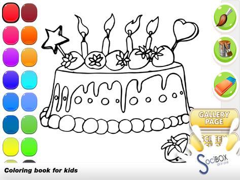 Cake Coloring Book apk screenshot