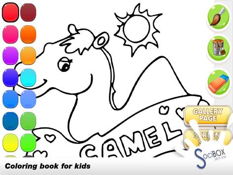 Camel Coloring Book poster