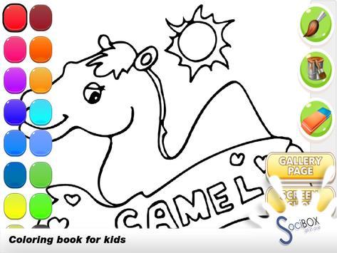 Camel Coloring Book screenshot 4