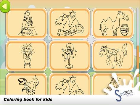 Camel Coloring Book screenshot 7