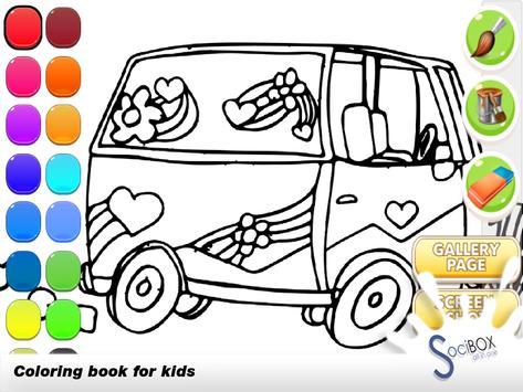 Cars Coloring Book screenshot 4