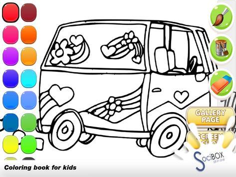 Cars Coloring Book screenshot 8