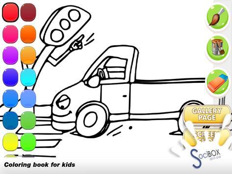 Cars Coloring Book screenshot 9