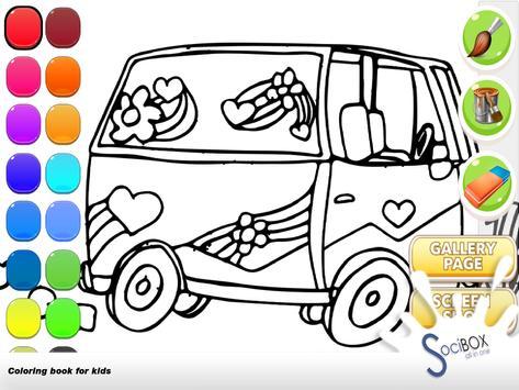 Cars Coloring Book screenshot 12