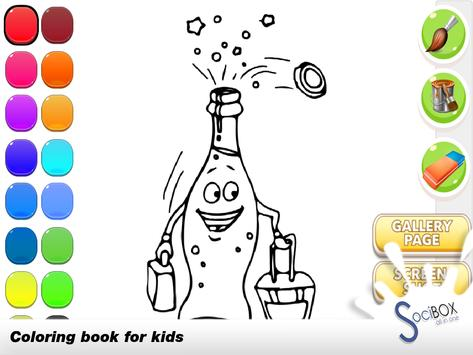 Coloring Book Drink poster