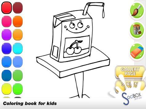 Coloring Book Drink screenshot 1
