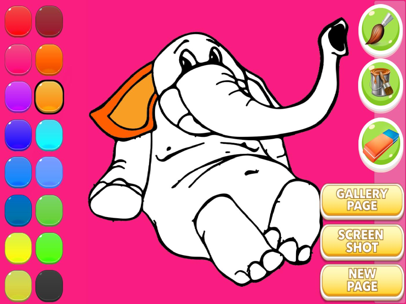 Gajah Buku Mewarnai For Android APK Download