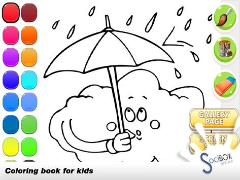 Sky Coloring Book poster