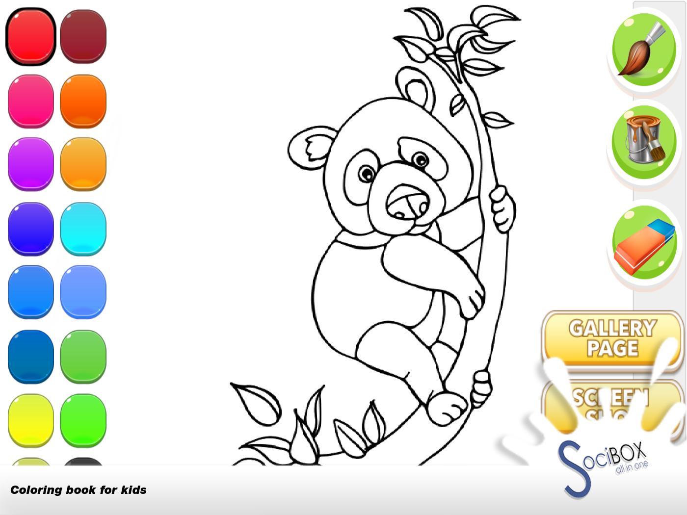 Panda Buku Mewarnai For Android APK Download