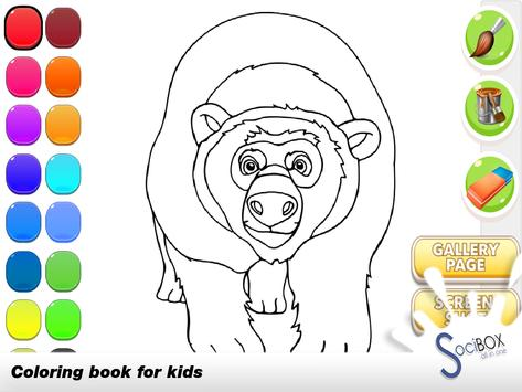 Forest Animals Coloring screenshot 1