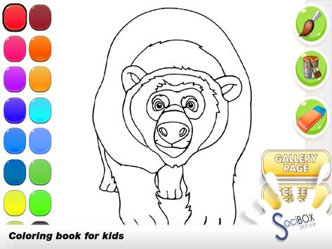 Forest Animals Coloring screenshot 5