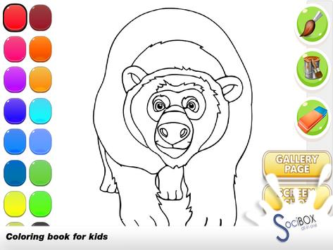 Forest Animals Coloring screenshot 9