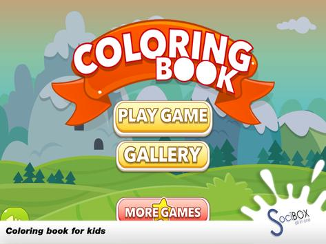 Coloring Book For Kids Animal screenshot 6