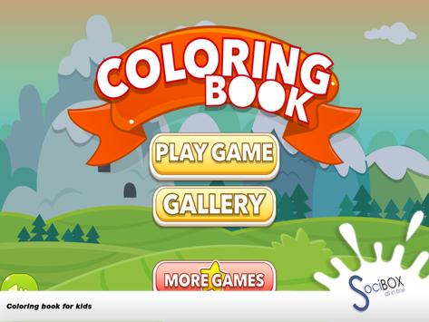 Coloring Book For Kids Animal screenshot 14