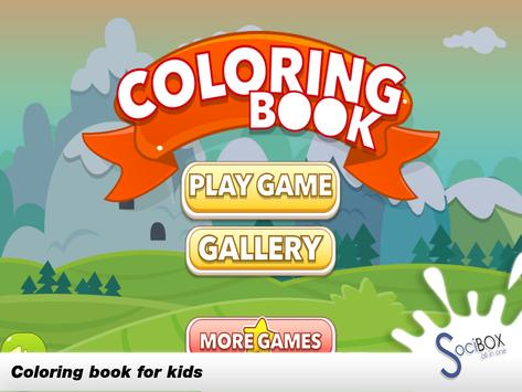 Coloring Book For Kids Animal screenshot 2
